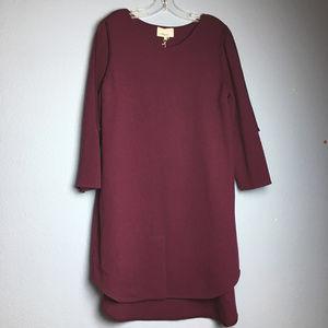 3.1 Phillip Lim High Low Framed Silhouette Dress